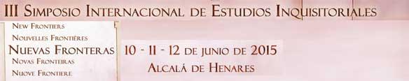 III Simpósio Internacional de Estudos Inquisitoriais: novas fronteiras