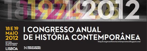 I Congresso Anual de História Contemporânea